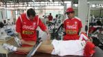 Pizarro, Vargas y Rodríguez pasaron pruebas de resistencia - Noticias de jose barreiro