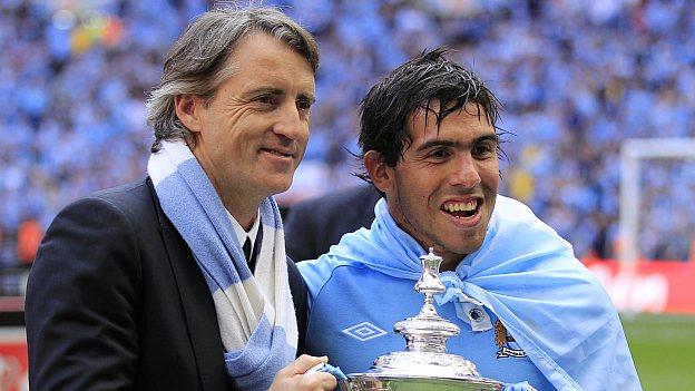 Mancini olvida problema con Tevez y le pide que vuelva
