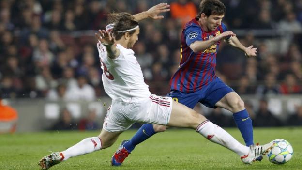 Resultado Barcelona AC MIla cuartos champions