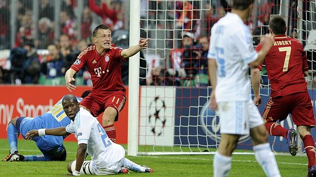Resultado Resultado Bayern Munich VS Marseille cuartos champions