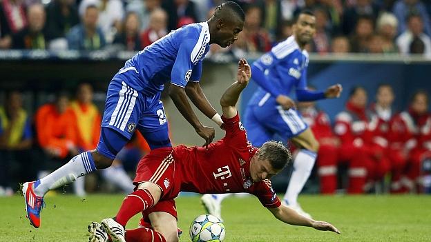 Resultado parcial Bayer Chelsea [1 - 1] final 19 mayo