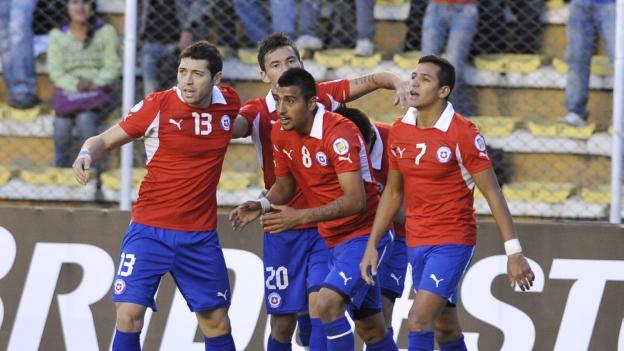 Selección Chilena, Chile, Bolivia, Selección Boliviana, Brasil 2014, Eliminatorias 2012, Mundial 2014
