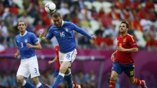España Italia Eurocopa 2012
