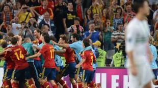 Cristiano no logró patear el penal. (AFP / ATV)
