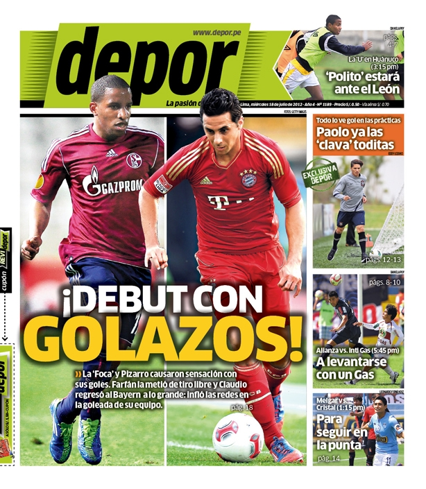 ¡Debut son golazos!
