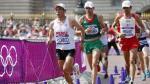 El peruano Raúl Pacheco terminó la maratón en el puesto 21 de Londres 2012 - Noticias de stephen kiprotich