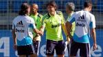 Cristian Benavente entrenó con José Mourinho y Cristiano Ronaldo - Noticias de alberto toril