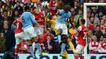 Manchester City empató 1-1 contra el Arsenal - Noticias de joleon lescott