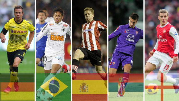 los mejores jugadores de futbol mundial: