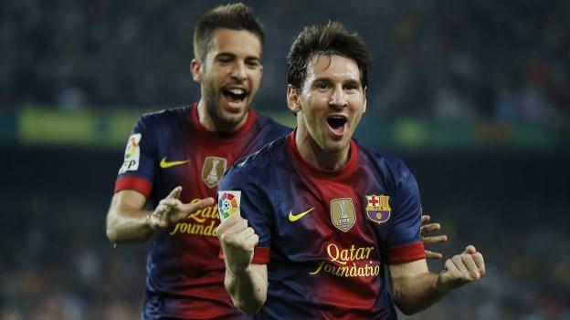 Goles Deportivo la Coruña Barcelona Video Messi 20 Octubre Liga BBVA